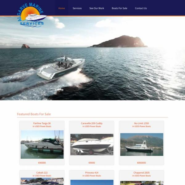 algarvemarineservices.com